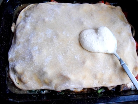 lasagna topping