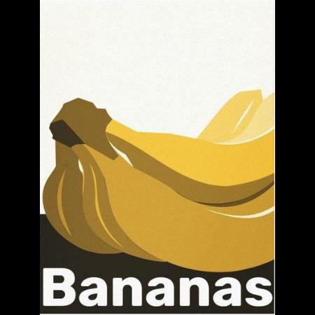 banana wall art