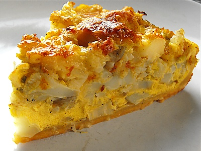 Go to cauliflower quiche recipe