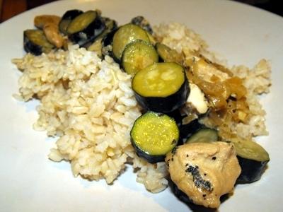 Chicken zucchini recipe