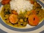 Go to chickpea curry