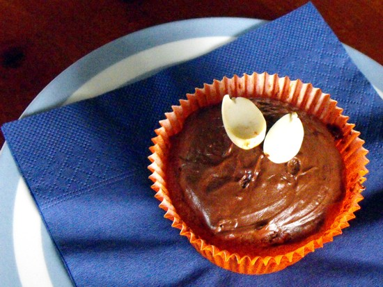 spiced chocolate muffins