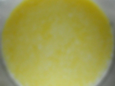 Step 3 - For the homemade mayonnaise recipe whisk together at high speed: milk, oil, mustard, lemon juice, salt and pepper