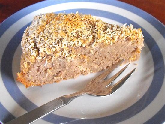 feijoa fruit cake with buckwheat flour