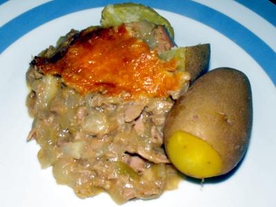 tuna fish pie