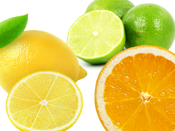 Citrus fruits that prevent smoothies to oxidize