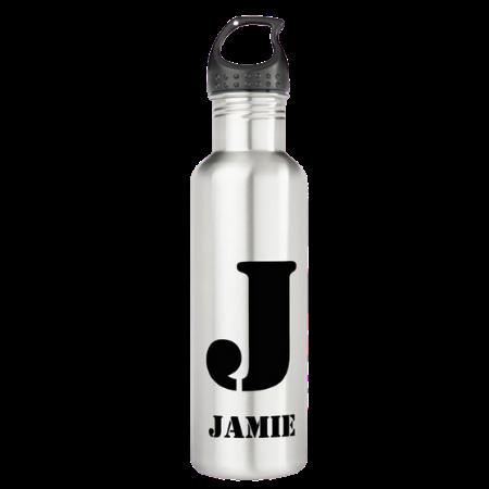 monogrammed kids water bottle