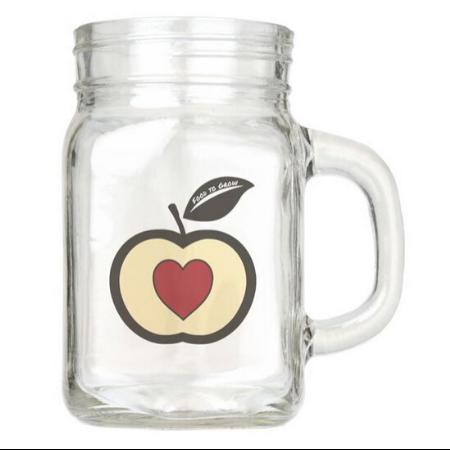 Logo Food To Grow on Mason Jar