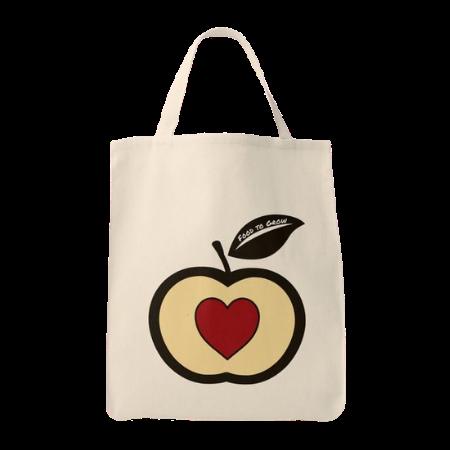reusable grocery tote bag with Food to Grow logo