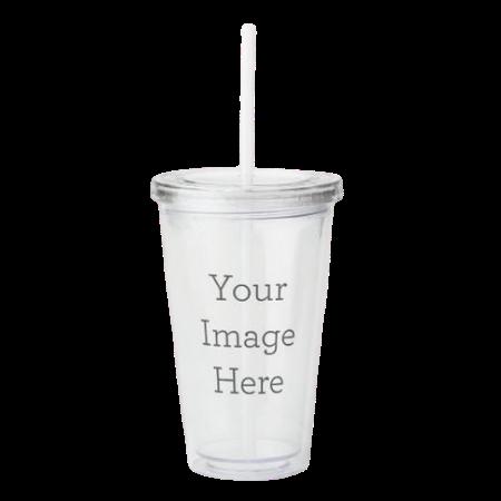 acrylic tumblerwith lid