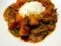 Go to pumpkin curry with beef